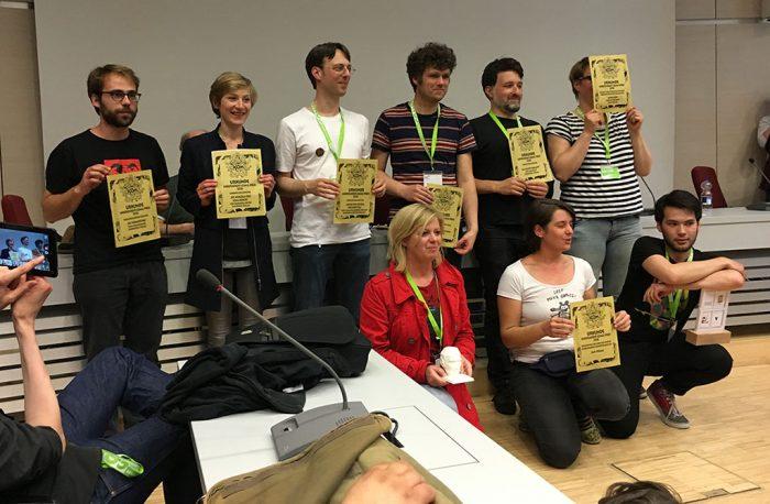 Alle Preisträger des diesjährigen ICOM, denen wir natürlich auch Verlagsübergreifend gratulieren!!!